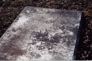 Elizabeth Linch's grave