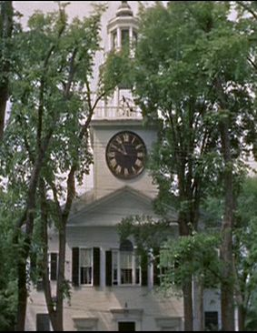 The church at Peyton Place